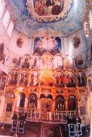 Спасо - Преображенская церковь (внутренний вид).